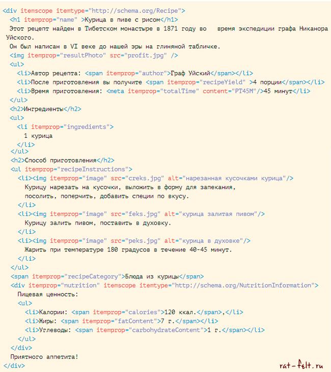 html-microrazmetka schema.org