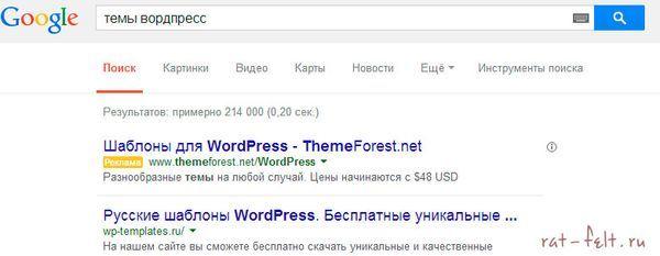 Поиск тем для блога