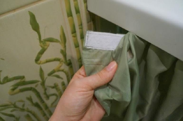 Как чистить занавеску в ванной
