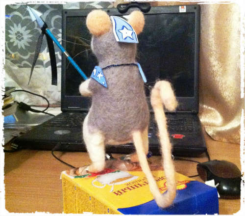 felting-rat