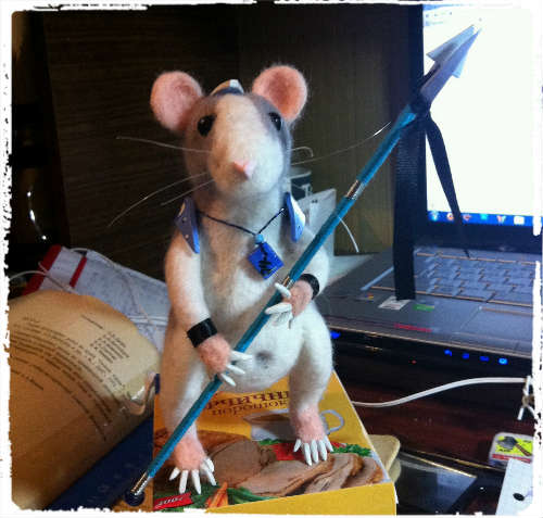 rat-felting