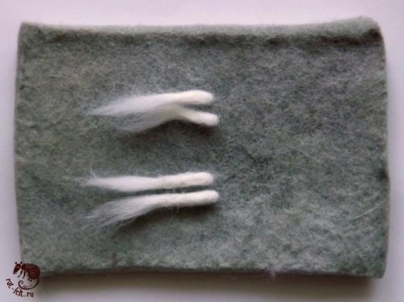 лапки крысы из шерсти