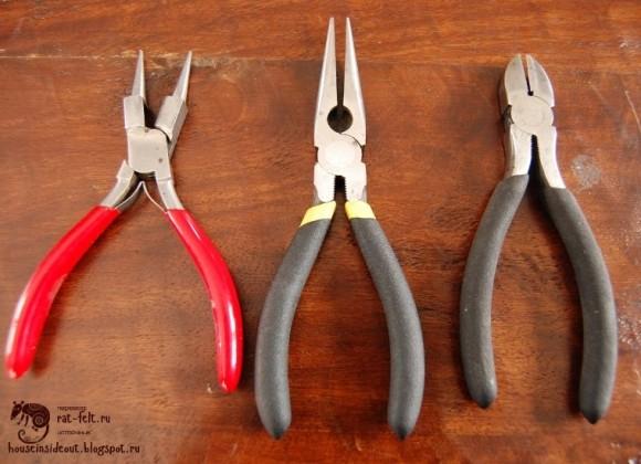 Инструменты для птичьих лапок из проволки