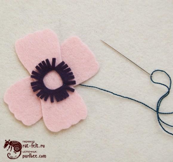 Верхняя часть цветка