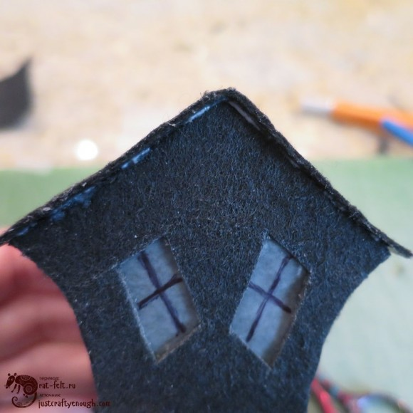 Готовый кривой дом