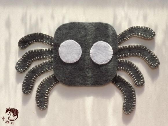 Сборка паука, начало