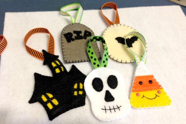 Игрушки из фетра к Хэллоуину
