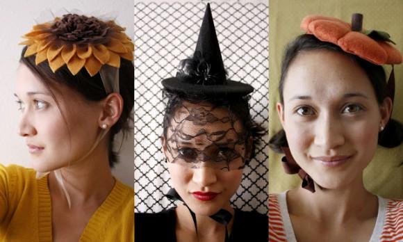 Оригинальные шляпки на Хэллоуин