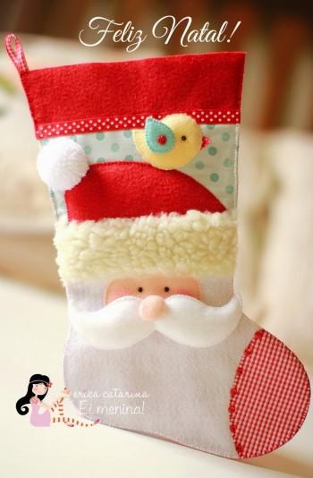 Рождественский носок от Érica Catarina