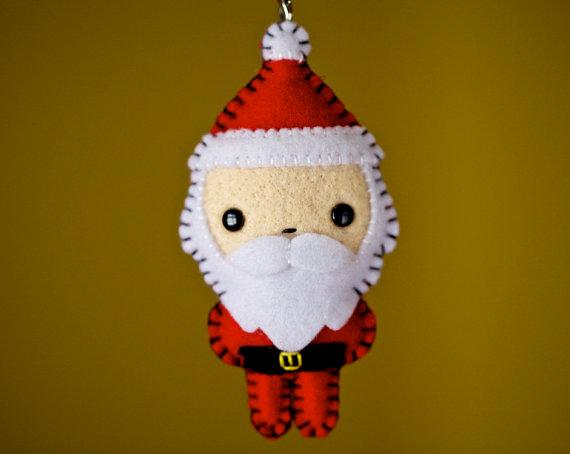 Круглый Санта от nuffnufftoys