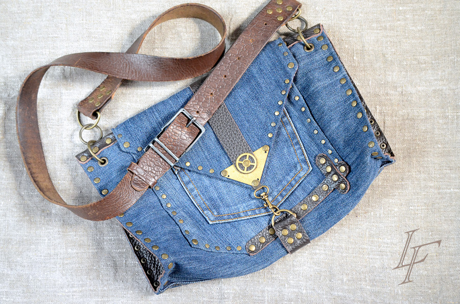 75626d842f1b Сумка из джинсов: разные модели с фото мастер-классами