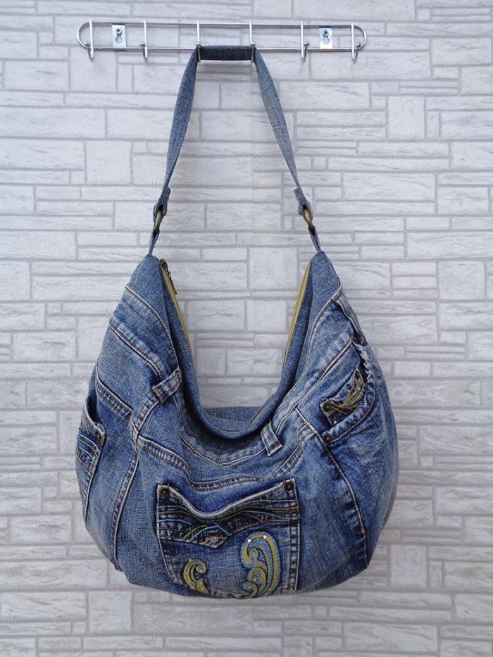 21247d7a376e Сумка-торба. В качестве материала используйте джинсы или натуральные ткани,  например, лен. Отличный летний вариант