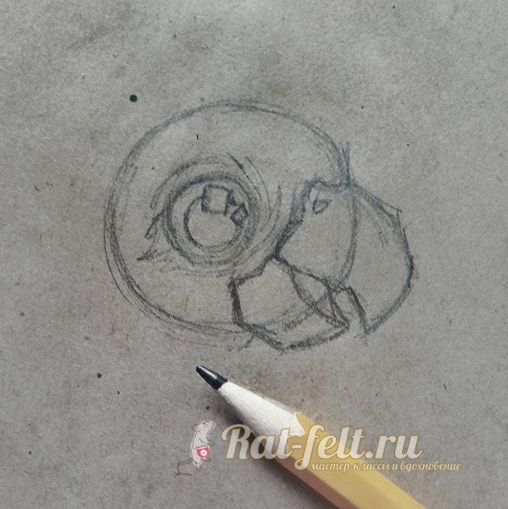 нарисовать глаз