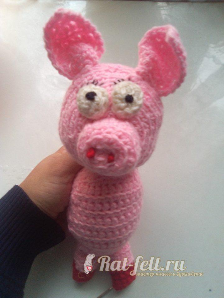 сшиваем свинку