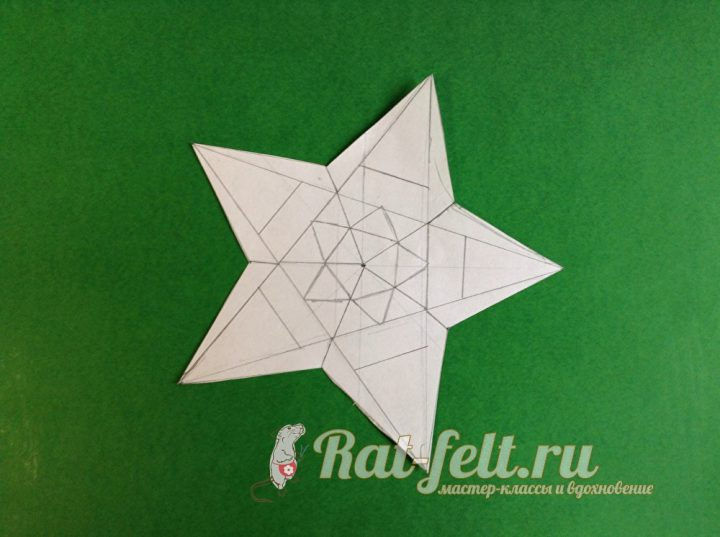 звездочка шаблон