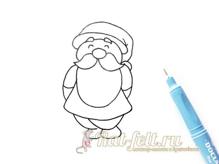 нарисовать ручкой