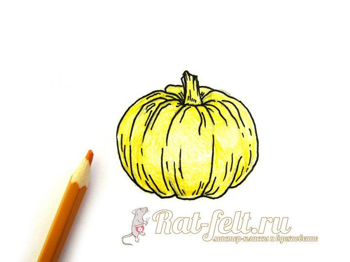 разрисовать желтым