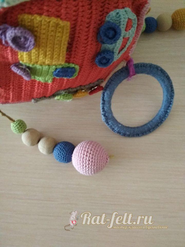 вязанная игрушка