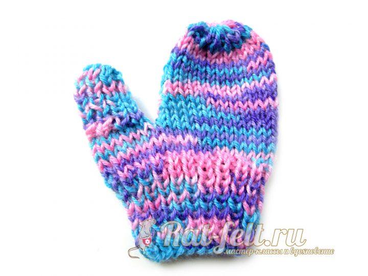рукавичка на ребенка