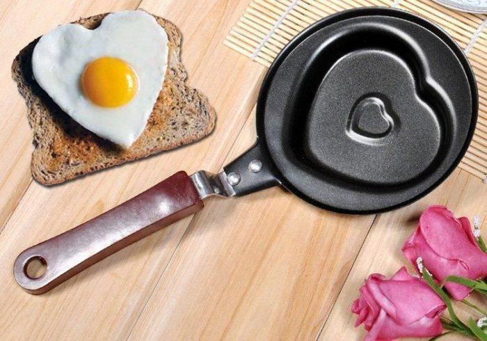 Сковородка сердечко