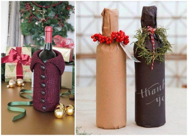 035f0f1f4e9b27825b3ff4cc5cf4fbb7 Бутылка шампанского на Новый год своими руками. 50 идей и подробные мастер-классы с фото