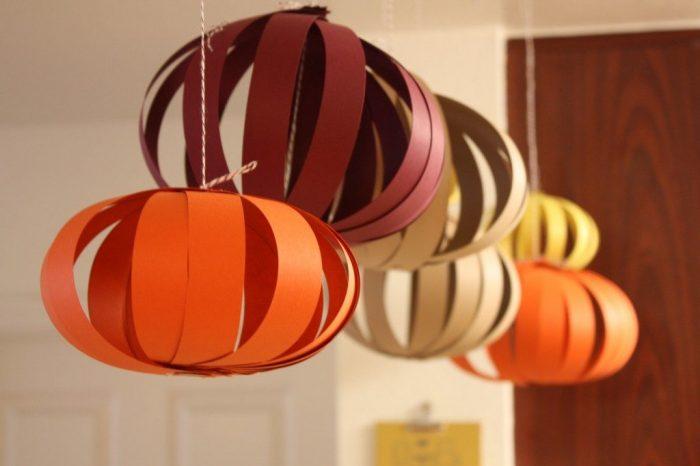 Фонари в форме шара