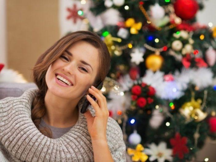 Найдите время позвонить тем, кого не сможете поздравить лично
