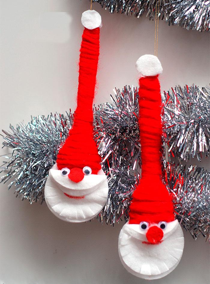 Забавный Дед Мороз на елку