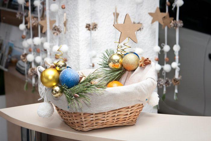 Как украсить свой кабинет к новому году