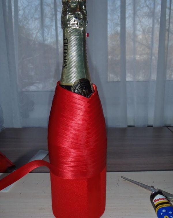 Воротник для бутылки своими руками фото 985