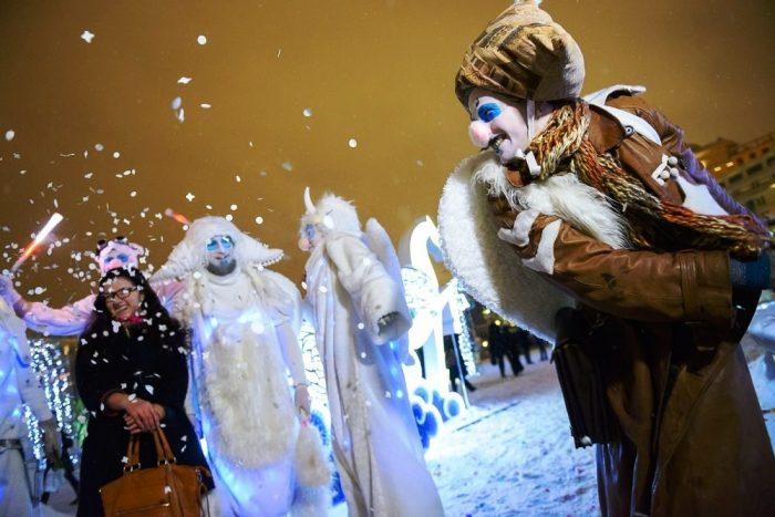 Сказочное представление «Сон в зимнюю ночь»