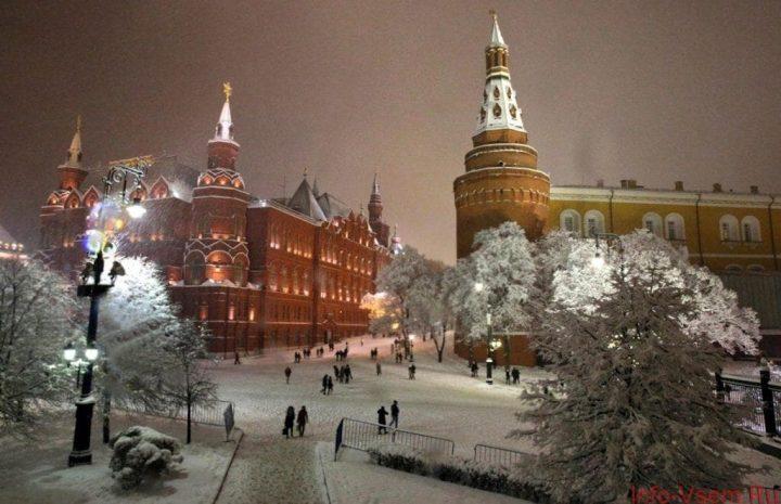 Погода на Новый год в Москве 2019 - 2019. Прогноз картинки
