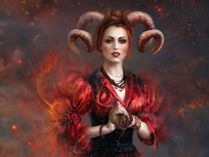 Общий гороскоп для женщины Овна