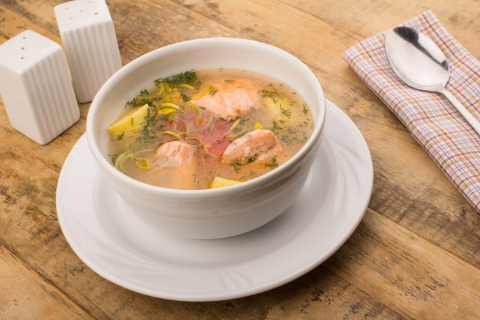 Рыбный суп (уха)