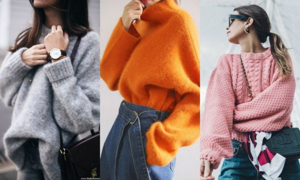 Широкий свитер