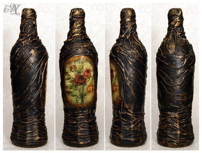 Декор для ваз и бутылок