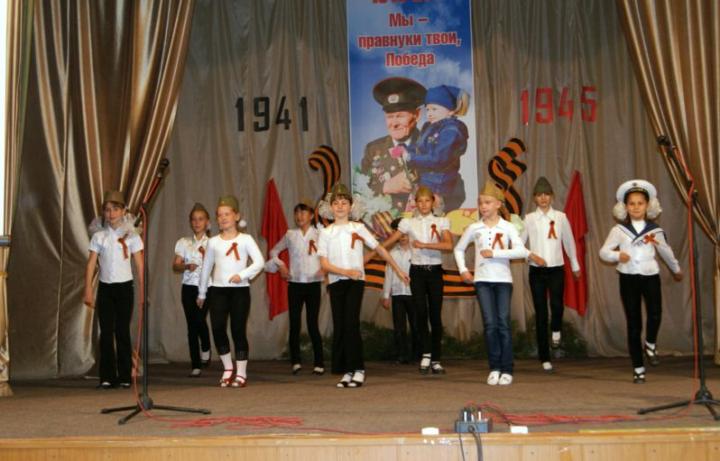 Ученики поют