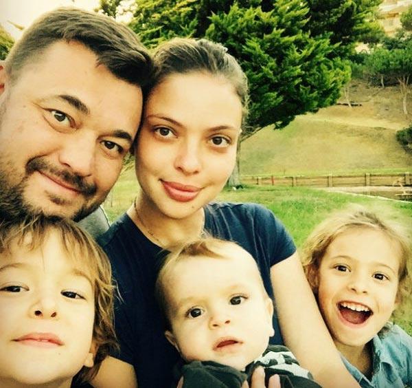 жуков с женой и детьми