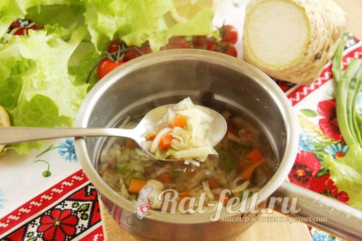 приготовить суп
