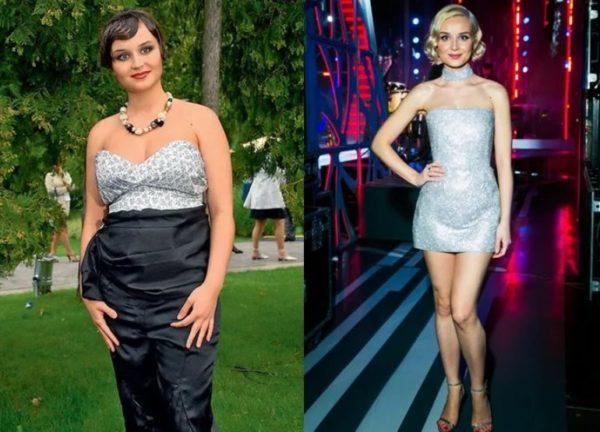 За Сколько Времени Похудела Гагарина. Как похудела певица Полина Гагарина. Минус 40 кг за 6 месяцев! Фото до и после