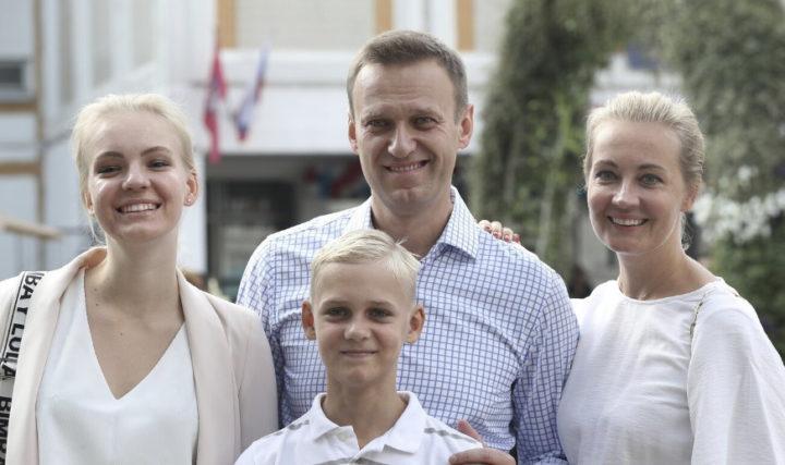 Семья Навальных