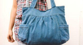 Миниатюра к статье Как из старых джинсов сшить сумку: мастер-класс с фото и видео