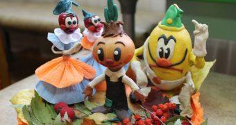 Миниатюра к статье Поделки из овощей и фруктов своими руками для детского сада: идеи