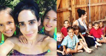 Миниатюра к статье Как сейчас живет знаменитая мать 8 близнецов