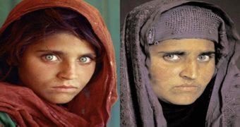 Миниатюра к статье Как за 17 лет изменилась афганская «Мона Лиза»
