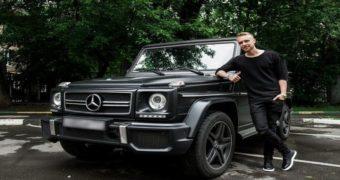 Миниатюра к статье Машины Егора Крида (фото)