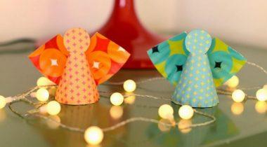 Миниатюра к статье Интересные и простые поделки на Рождество своими руками для детей
