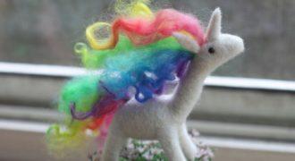 Миниатюра к статье Жизнь в ярких красках или подборка радужных шерстяных зверей