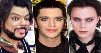 Миниатюра к статье Знаменитые мужчины, которых сложно узнать без макияжа
