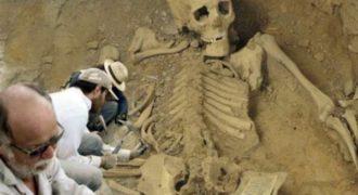 Миниатюра к статье Тайны трехметровых мумий